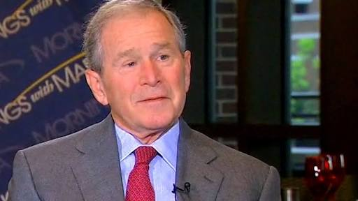 George W. Bush 'disturbed' by current US immigration debate